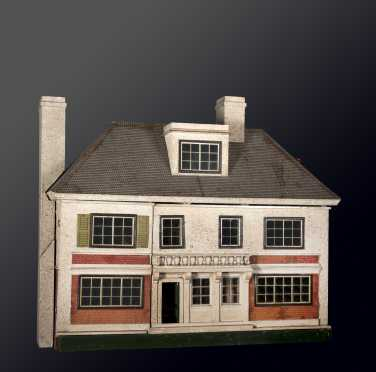 Furnished German Doll House,