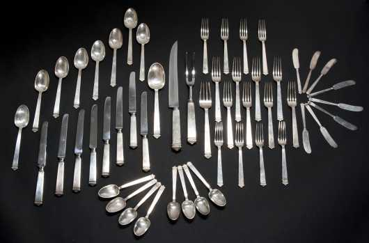 Tiffany & Co. Complete Flatware Service for eight