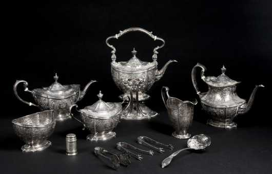 """Sterling Silver Tea by """"Dominick & Haff"""""""