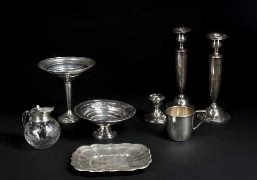 Miscellaneous Lot of 8 pieces of Sterling Silver