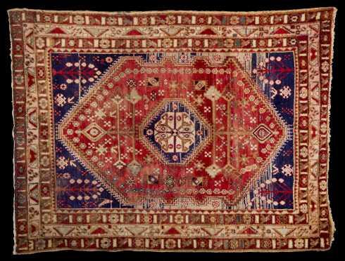 Hamadan Style Scatter Oriental Rug