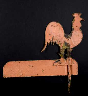 Rooster Sheet Metal Weathervane