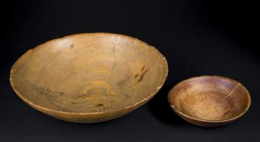 Two Early Treen Bowls