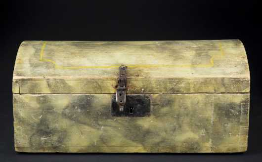 Smoke Decorated Document Box