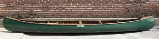 "Merrimack Canoe Co., Modern Canoe, 15' 9"" long"