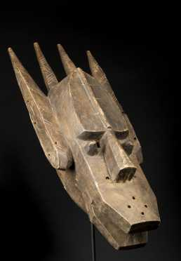 A Bamana/Malinke facemask