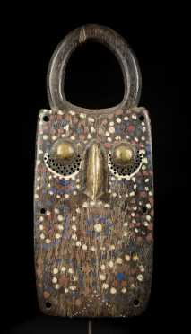 A highly unusual and powerful Burkina Faso mask