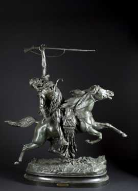 "Spelter ""La Fantasia"" After R. LeCourtier"