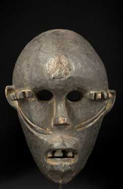 A fine and rare Idoma mask