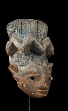 A superb Yoruba Gelede mask