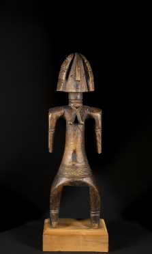 A rare Bagirmi figure
