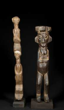 Two Fine Yaka figures
