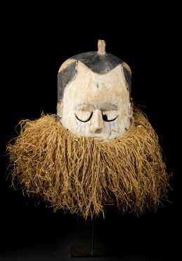 A fine Suku helmet mask