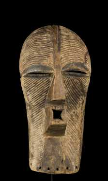 A fine Songye female Kifwebe mask