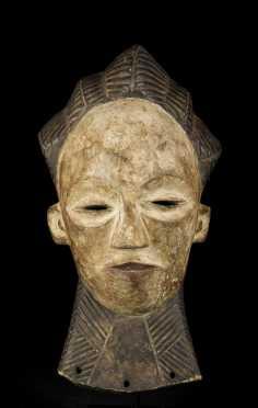 A fine Luba 'belle madeleine' kifwebe mask