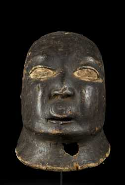 A Makonde female mask