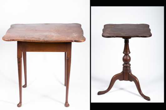Two Restored Furniture Items