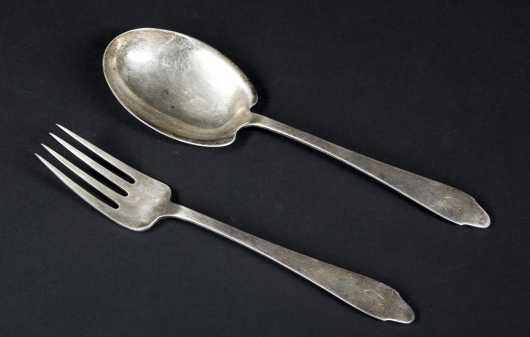 Tiffany & Co. Sterling Salad Set