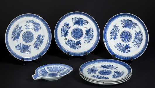 Chinese Export Fitz Hugh Porcelain