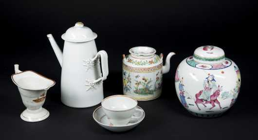 Chinese Export Porcelain Lot