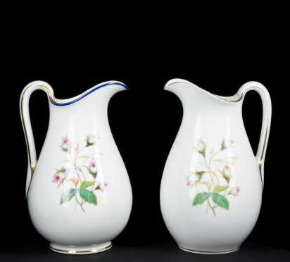 Paris Porcelain Pitchers