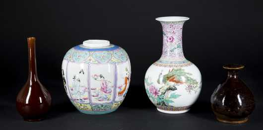 Chinese Pottery and Porcelain Lot