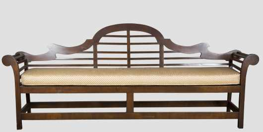 Chinese Export Style Settee