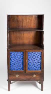 English Regency Bookcase Cabinet