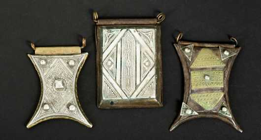 Three Tuareg Amulets