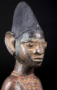 A Yoruba Ibeji figure