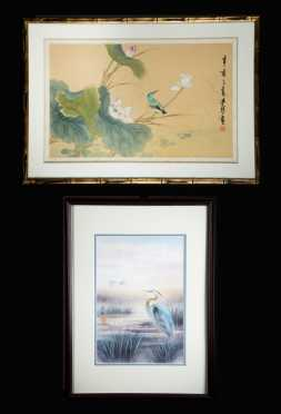 Two Chinese Art Pieces