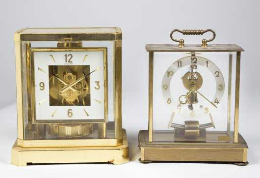 Brass Mantle Clocks