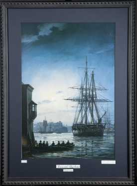 """Treason's Harbor"" by Geoff Hunt,"