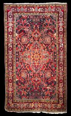 Hamadan Large Scatter Oriental Rug