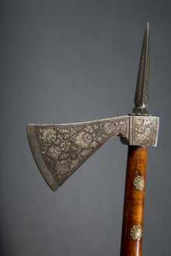 A Fine Persian Tabar Zin War axe
