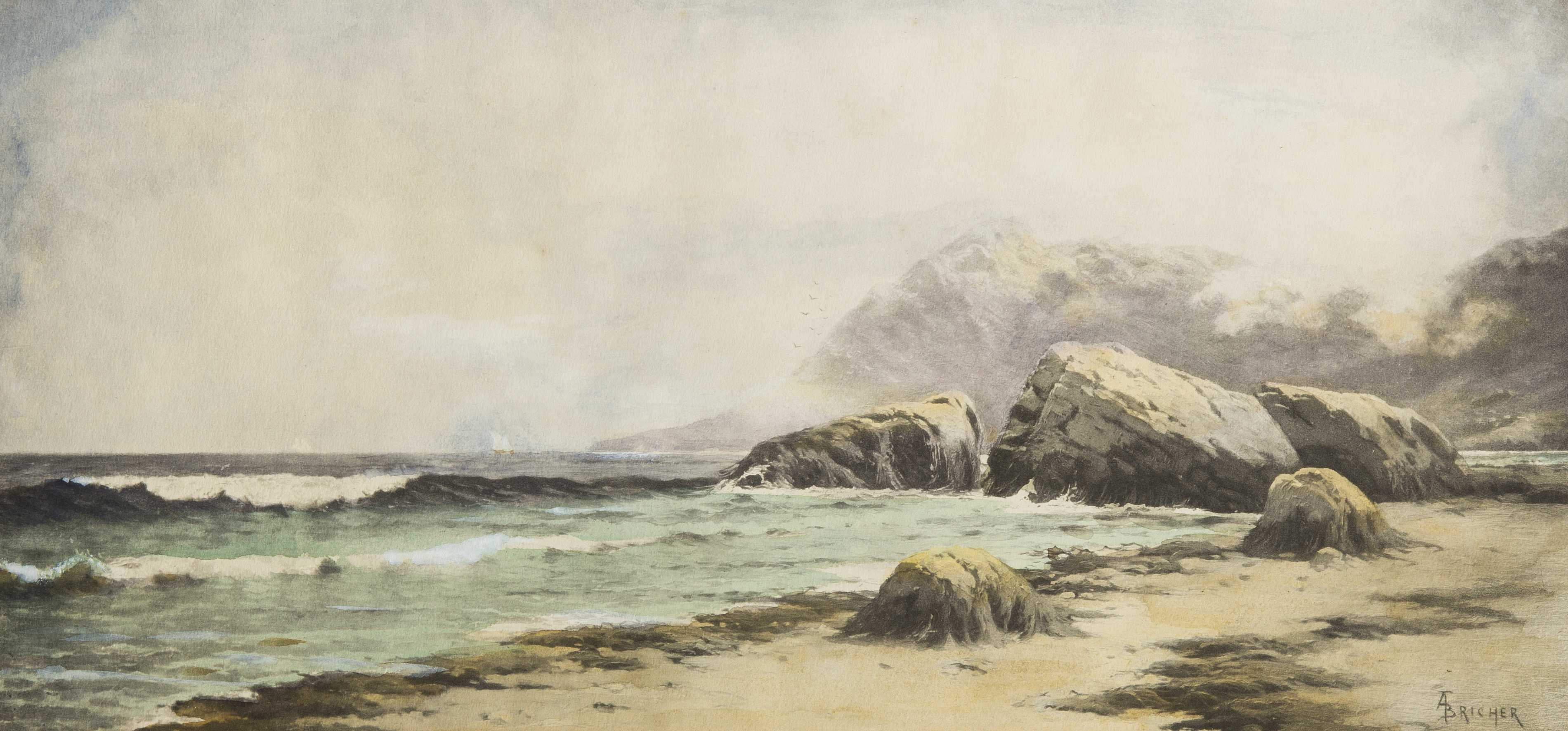 Alfred Thompson Bricher 1837 1908 Ny Nh