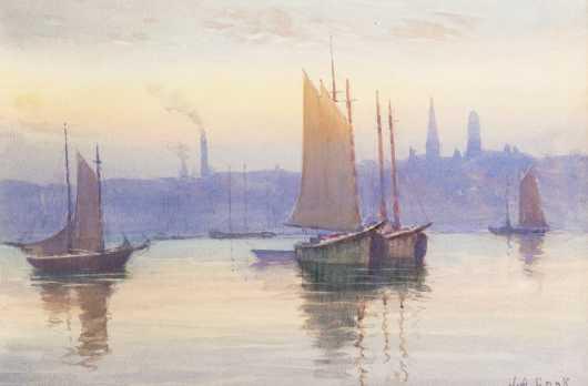 John A. Cook (1870-1936), MA