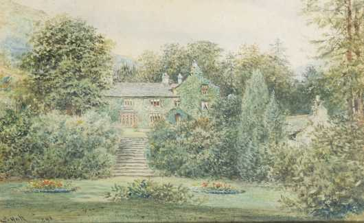 Edward Hull, United Kingdon, 19th C., Watercolor
