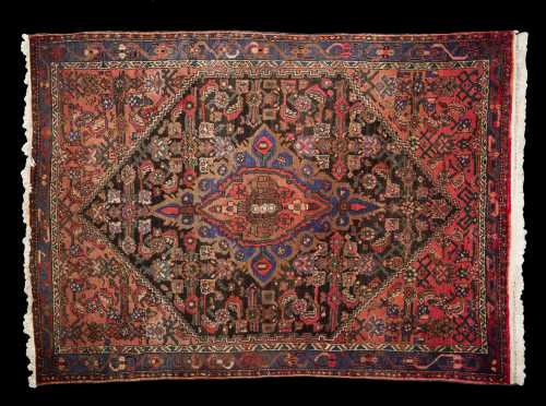 Hamadan Large Scatter Size Oriental Rug