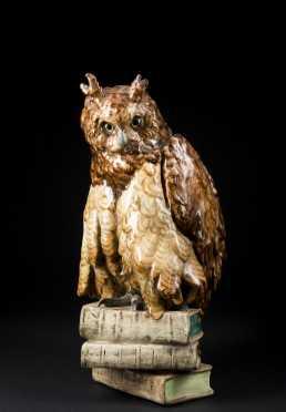 Majolica Owl