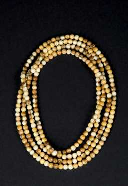 Mammoth Ivory Beaded Necklace