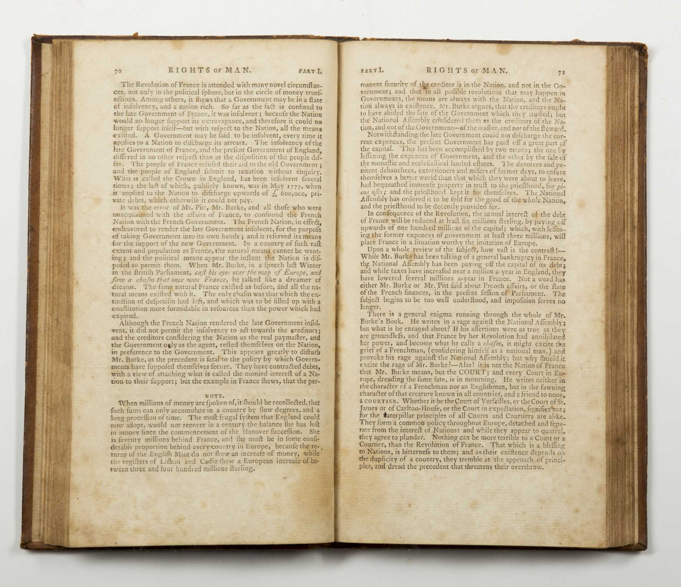 the background of the treason charges against thomas paine in 1793 Great britain: the treasonable and seditious practices and the seditious meetings acts (the gagging acts) of 1795 by tom holmberg introduction.