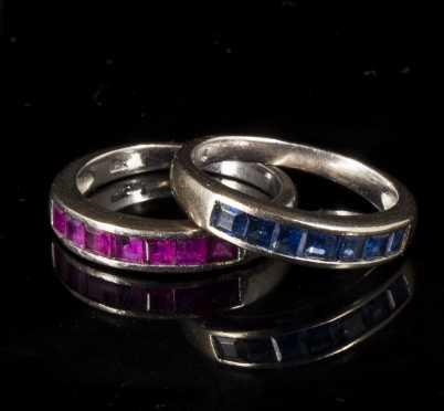 18K White gold Rings