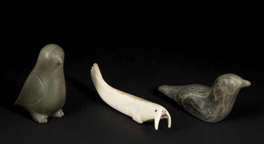 Three Inuit Carvings