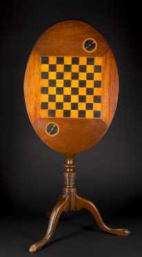 Checkerboard Candlestand