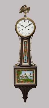 Waterbury Clock Co. Banjo Clock