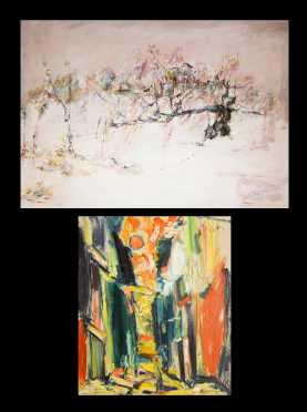 Two Modern Paintings,