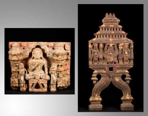Antique Indian Architectural Elements