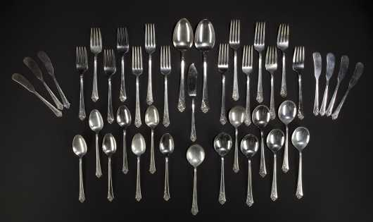 Sterling Silver Service for Seven