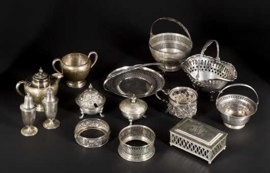 Miscellaneous Sterling Silver Lot